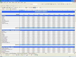 business income and expense template download