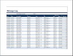 business mileage log download