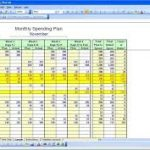 free monthly budget spreadsheet download