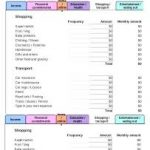 free budget calculator worksheet download