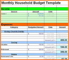 free printable budget templates download