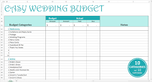 free printable budget wedding checklist download
