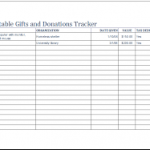 goodwill donation excel spreadsheet download