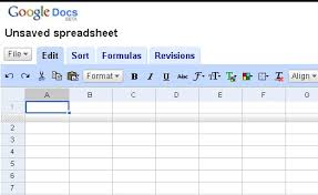 google docs spreadsheet template download