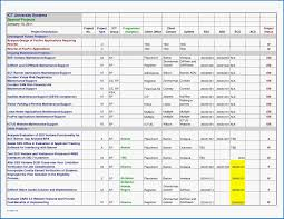 grant proposal tracking template download