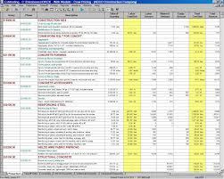 home construction budget spreadsheet download