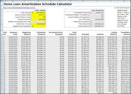 home loan amortization schedule excel with extra payments download