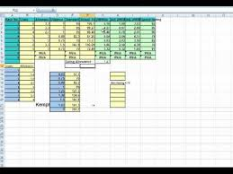 horse racing spreadsheet download