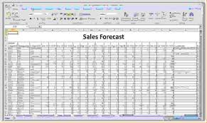 how to write a sales forecast download