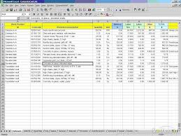 job costing spreadsheet construction download