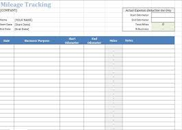 mileage log template google sheets download