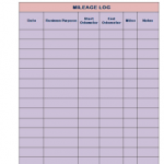 mileage log template pdf download