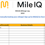 mileage reimbursement template download