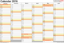 monthly calendar template download