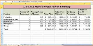 payroll in excel free download