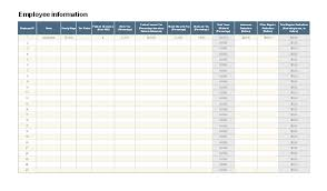 payroll template google sheets download