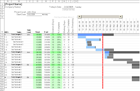 project plan template excel 2013 download