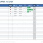 project task list template excel download