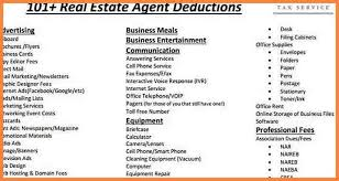 real estate expenses report template download