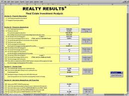 realty results spreadsheet download