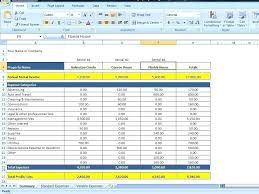 rental property spreadsheet template download