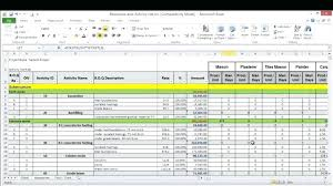 Resource Management Excel Spreadsheet - SampleBusinessResume.com ...