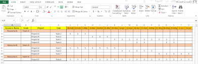 resource utilization template excel download