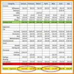 salon accounting spreadsheet download