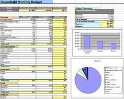simple household budget template excel download