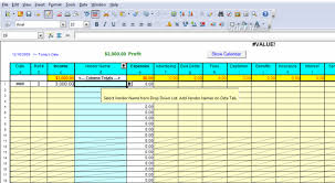 simple profit and loss template for self employed download
