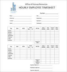 simple timesheet template download