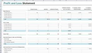trading profit and loss account and balance sheet in excel format download