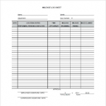 vehicle mileage log book download