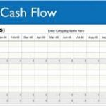 5 year cash flow projection template download