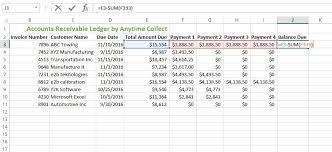 accounts receivable forms template free download