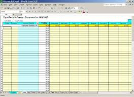 business spreadsheet of expenses and income download