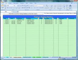 employee training tracker download