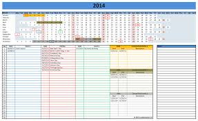 excel calendar template 2018 download