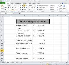 excel car loan calculator with extra payments download