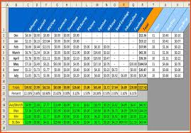 excel spreadsheet for small business income download