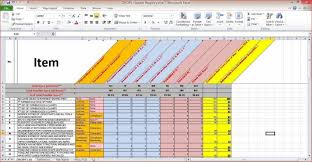 excel training database template download
