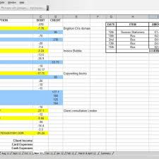 farm income and expense worksheet xls download