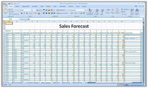 forecast spreadsheet excel examples download