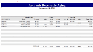 free accounts receivable excel template download
