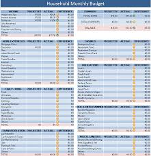 free budget spreadsheets for home download