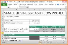free cash flow forecast template download