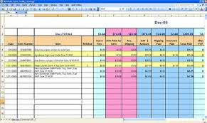 free ebay accounting spreadsheet download