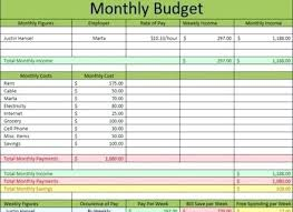 free excel monthly bills spreadsheet download
