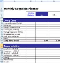 free excel monthly budget template download