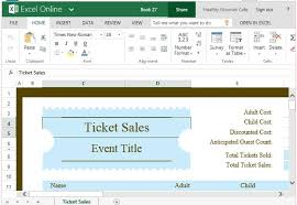free ticket templates for word download